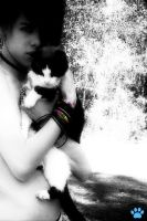 Jayy and a Kitty by Isabela1