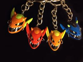 Kobald Keychains by WithPencilInHand