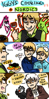 IGGY'S COOKING PT.4 NORDICS by Randomsplashes