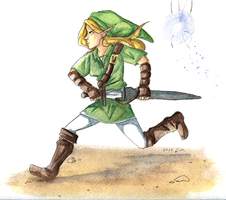 the legend of link by LadyELain