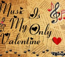 Music Is My Only Valentine by sonic4465