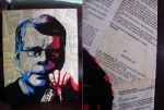 Stencil of Stephen King, 2 layers by Zombie-Pacman