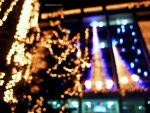 bokeh city lights by SoBiEsKii