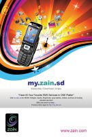 Zain Mobile Flyer by send2owais