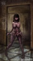 Zombie pregnant 3 by FASSLAYER