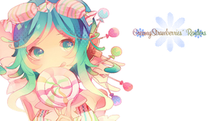 Megpoid Gumi - Candy Candy Render by paper-narwhal
