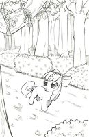 Applebloom in spring by Princrim