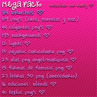 Mega Pack de Recursos PNG ahora en ZIP by karlyeditions