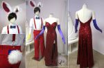 Roger Rabbit and Jessica Rabbit costume by Lillyxandra