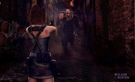 Resident Evil 3 Remake ART by:Wilson Burton by wilsonBurton20