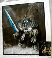 Arthas Menethil - Canvas by Angband