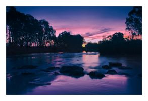 Little Murray River Sunset by Dyer-Consequences