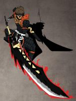 MH3U: Nargacuga Set by Klimaru