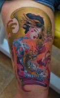 GEISHA by Eviltattoopiotr