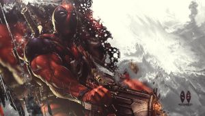Deadpool Wallpaper by MizoreSYO