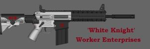 Worker Enterprises- 'White Knight' Assault Carbine by JohnnySpring