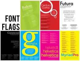 Font Flags by Tinik