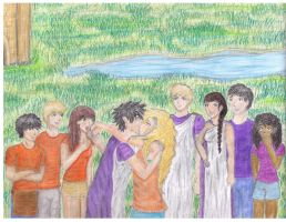 Request: Percabeth and Company by stinafelix