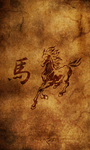 Chinese Zodiac - Horse by Drawder