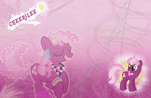 FiM: Cheerilee Wallpaper by M24Designs