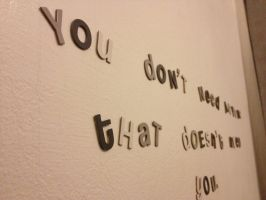 Wall quote by xsheervanilla