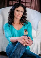 Melissa McCall and Her Daemon by LJ-Todd