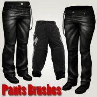 Pants Brushes by remygraphics