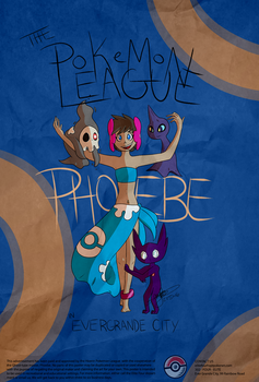 LEGACY: Pokemon League Promotional Poster by glorious-mishaps