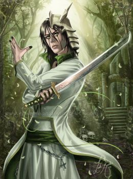 Ulquiorra - Sorrow Within by keelerleah