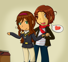 [APH AT] Italy and Croatia by poi-rozen