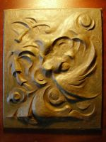bas-relief by Mladshoi