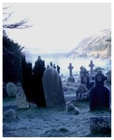 Irish Graveyard by ceach