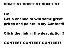 WIN POINTS!! CONTEST! by matrix9000