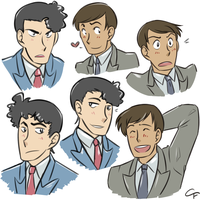 Detective Doodles by Angel-soma
