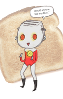 Anyone want some toast? by rachaelwrites