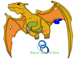 N's charizard by FrankinPoodle
