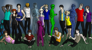 The Red vs Blue Rp Group by ShasonEfen