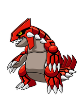 Gargantuan Groudon by Red-Flare