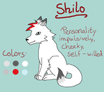 Reference sheet: Shilo by Lizzara