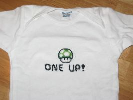 One Up Onesie by Craftigurumi
