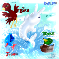 Dolph and Friends by SsKingdomsFury