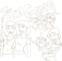 The Ace Gang + Sven by Svenly