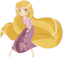 Rapunzel by lualy