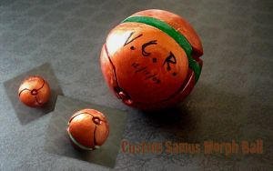 Custom Samus Morph Ball by GandaKris
