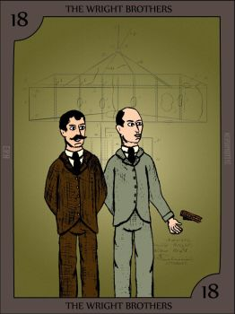 The Wright Brothers by Nerdroditie