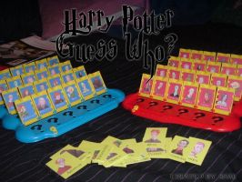 Harry Potter Guess Who Game by lezlishae