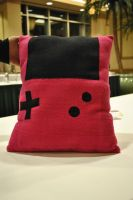 Gameboy Pillow by nenfere