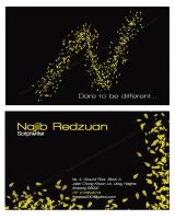 Business Card - Najib 2 by noremorseiwannadie