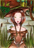 Frog Witch by matali