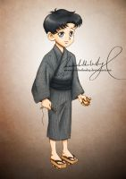 Matsuri Kids: Mamoru by MoonchildinTheSky